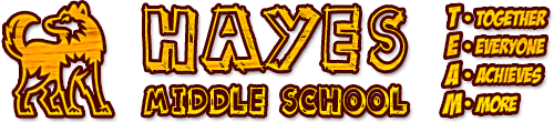 Hayes Middle School  Logo